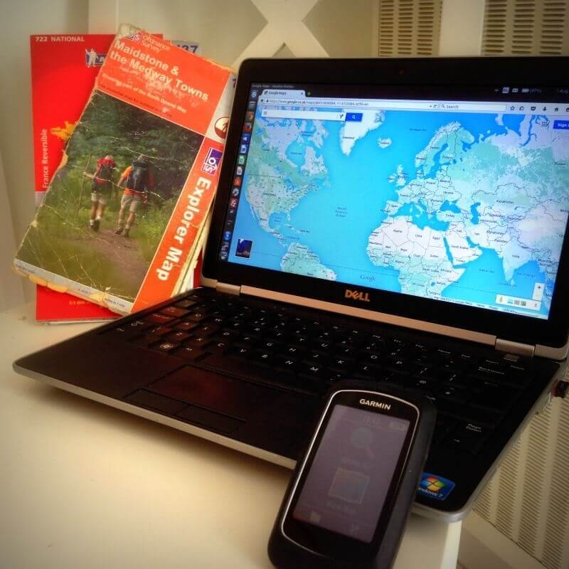 Cycle Touring Navigation: Paper Map or GPS Device?