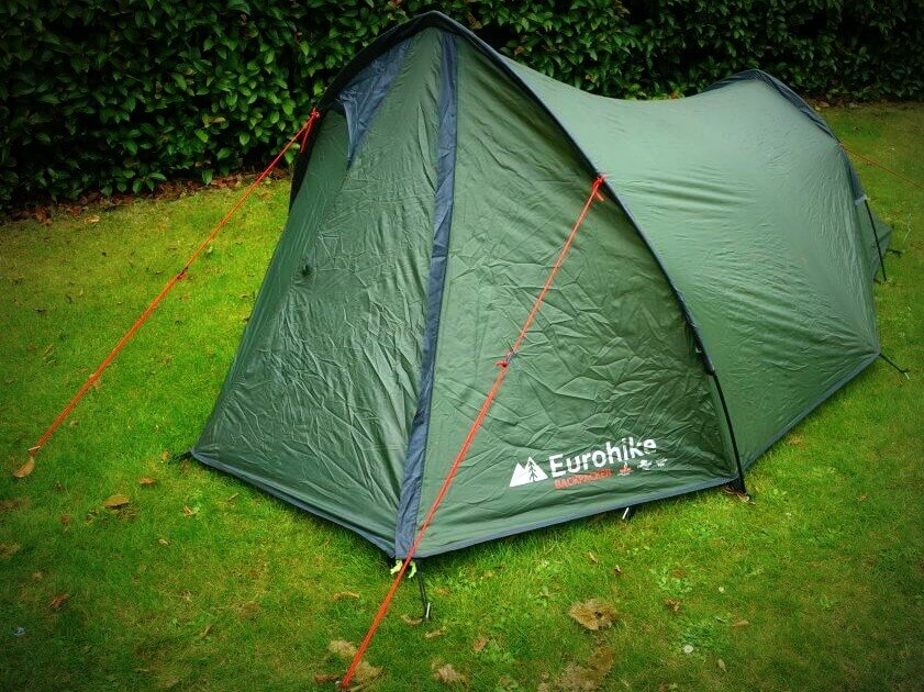 Eurohike Backpacker Tent for Cycle Touring